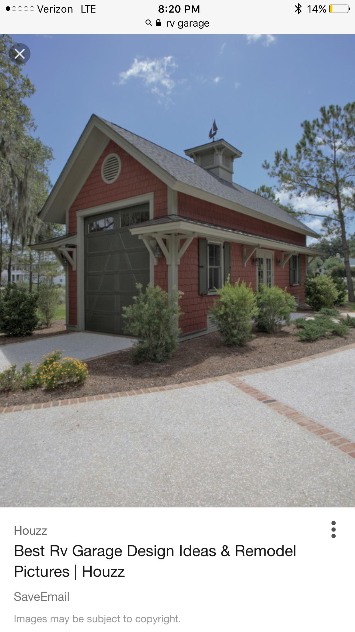 RV garage PoleShedPlan Backyard buildings, Backyard