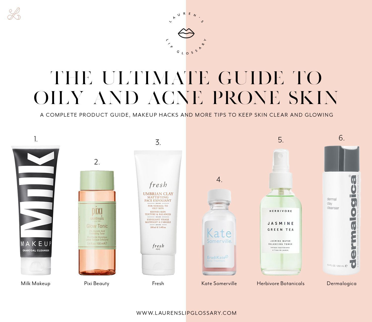 Everything You Need To Know So Your Skin Stays Clear And Glowing Not Greasy I Ll Show You What An Ideal Skincar Acne Prone Anti Aging Skin Products Oily Skin