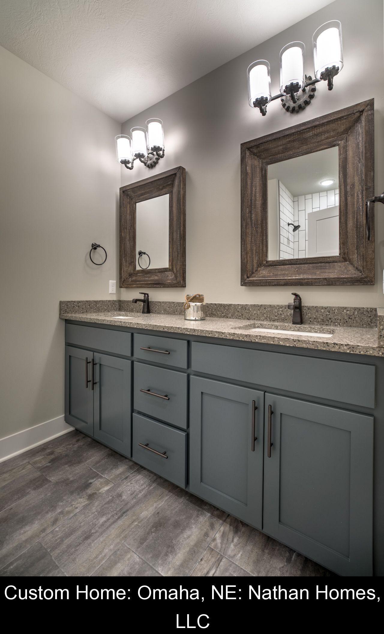 Custom Home Omaha Ne Nathan Homes Llc 66472 Bathroom Renovations Bathroomrenovations 2020 Banyo Yeniden Modelleme Banyo Yenileme Ev Dekoru