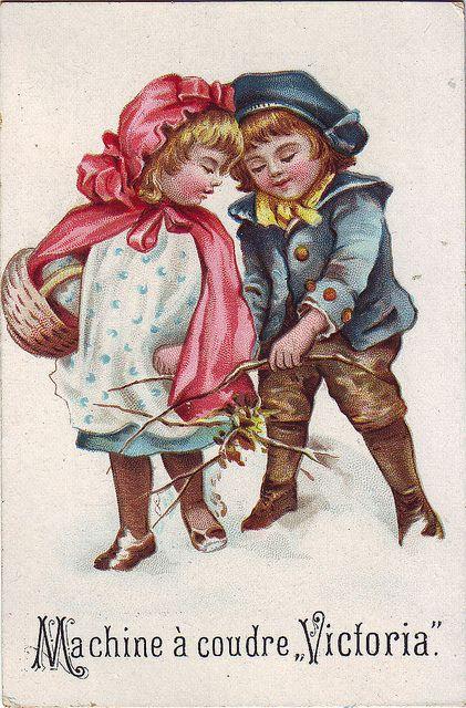 Chromo machine a coudre victoria children in winter for Machine a coudre victoria