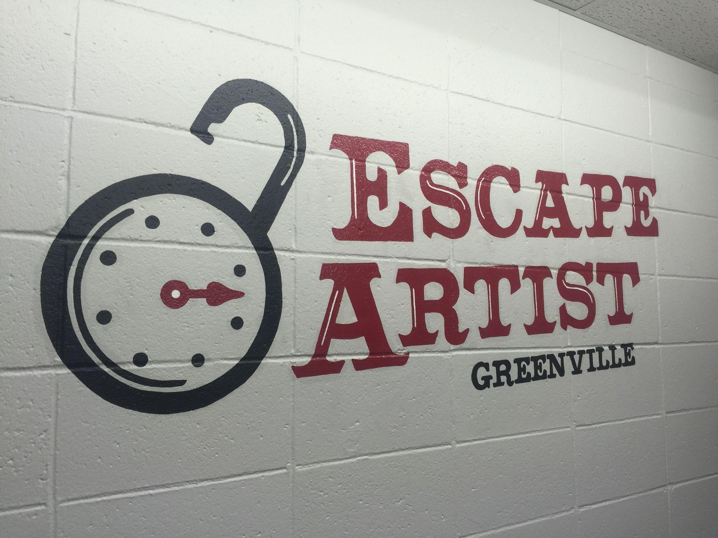 Escape artist greenville greenville neon signs