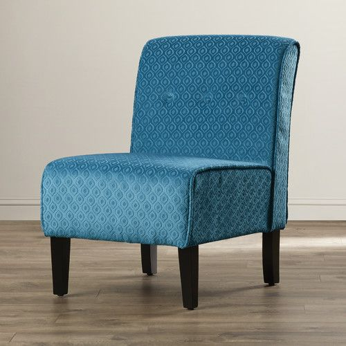 Found It At Allmodern Wragby Slipper Chair Blue Accent Chairs