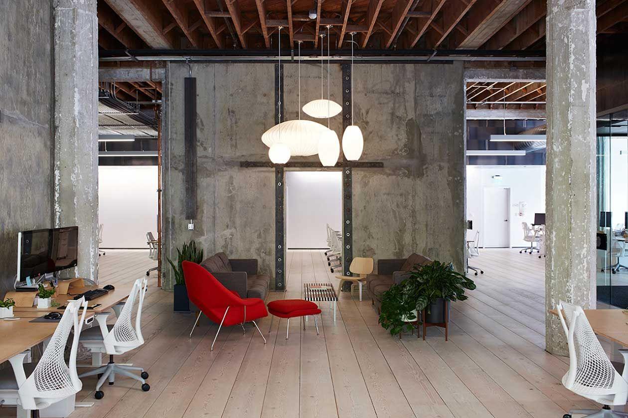 Neueste innenarchitektur vscous oakland hq by debartolo architects  offices  creative