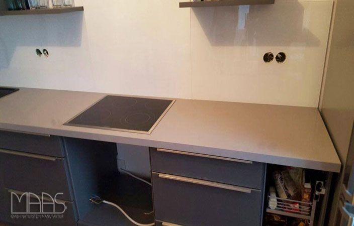 Silestone Arbeitsplatte aufmaß lieferung und montage silestone arbeitsplatte kensho