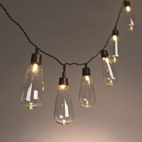 Light Bulbs On A String Amazing 10Light Globe String Lights  Globe String Lights Light Globes And Inspiration Design