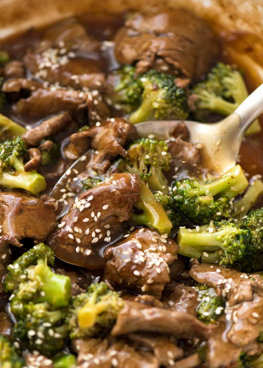 Chinese Beef and Broccoli   Recipe   Chinese beef ...