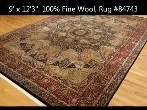 In Depth Look At One Of Our Tabriz 100 Fine Wool Oriental