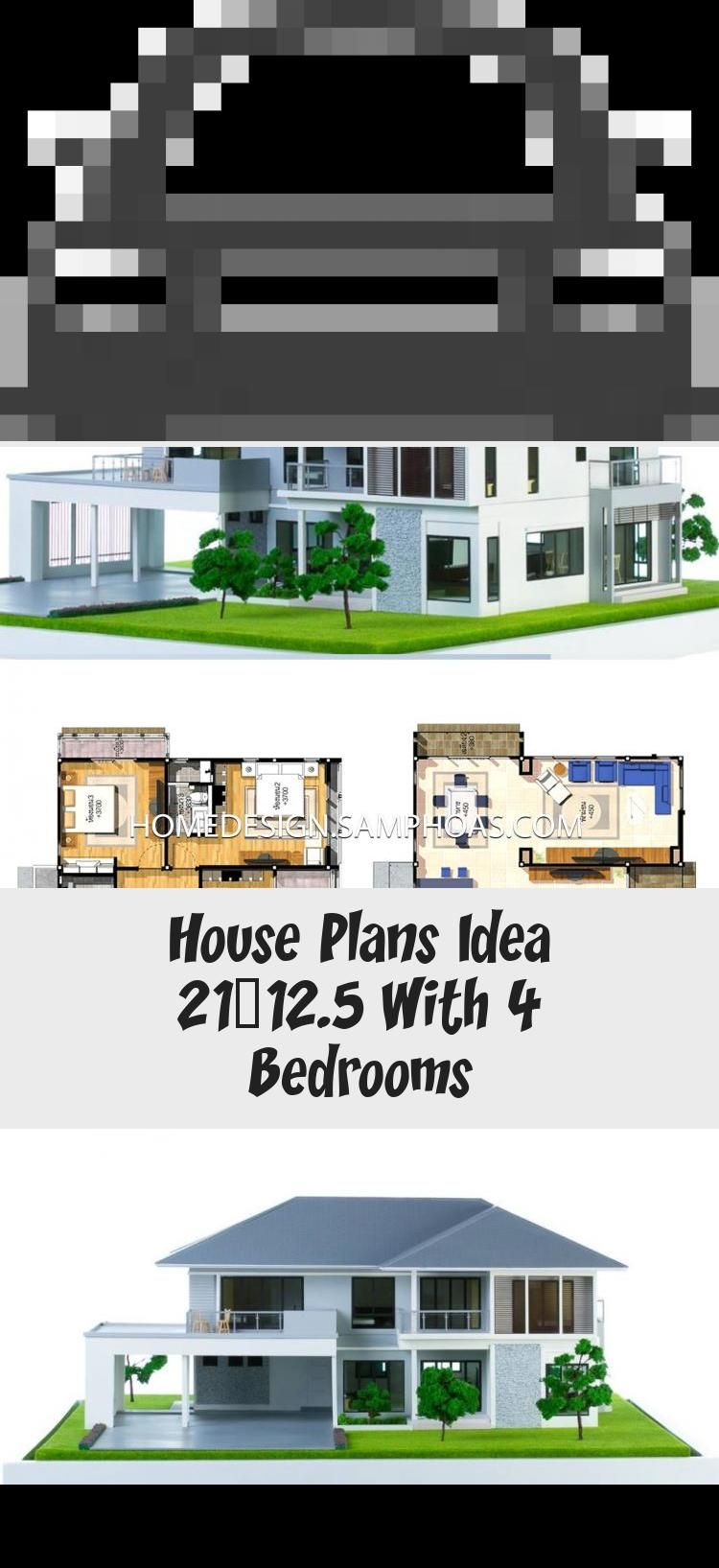 House Plans Idea 21x12 5 With 4 Bedrooms Home Ideassearch Floorplansgraphic Floorplanscoloring Colonialfloorplans Floorpla In 2020 House Plans House House Styles