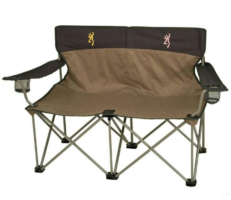 Double folding chair Outdoor Spaces and Gardening