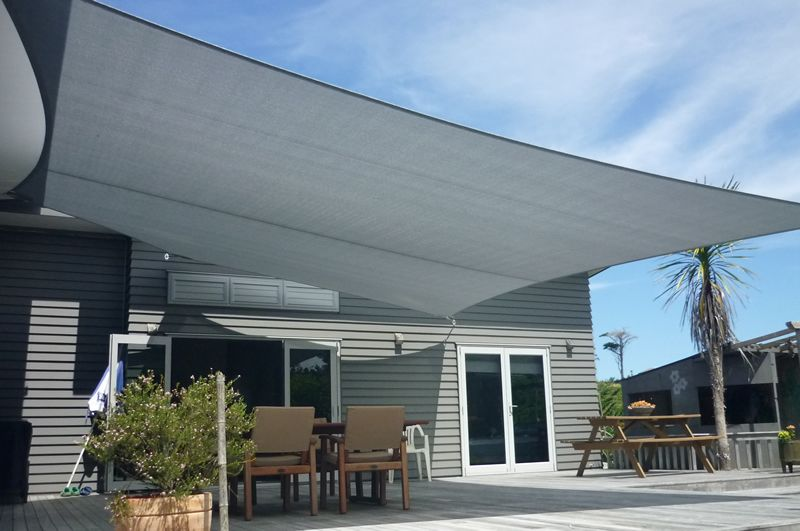 Shade Sails, Verandah Curtains and other outdoor canvas ...
