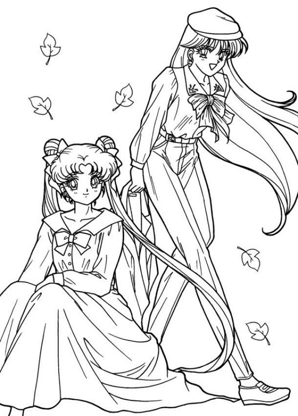 Colorear En L 237 Nea Dibujos Animes Mix Sailor Moon