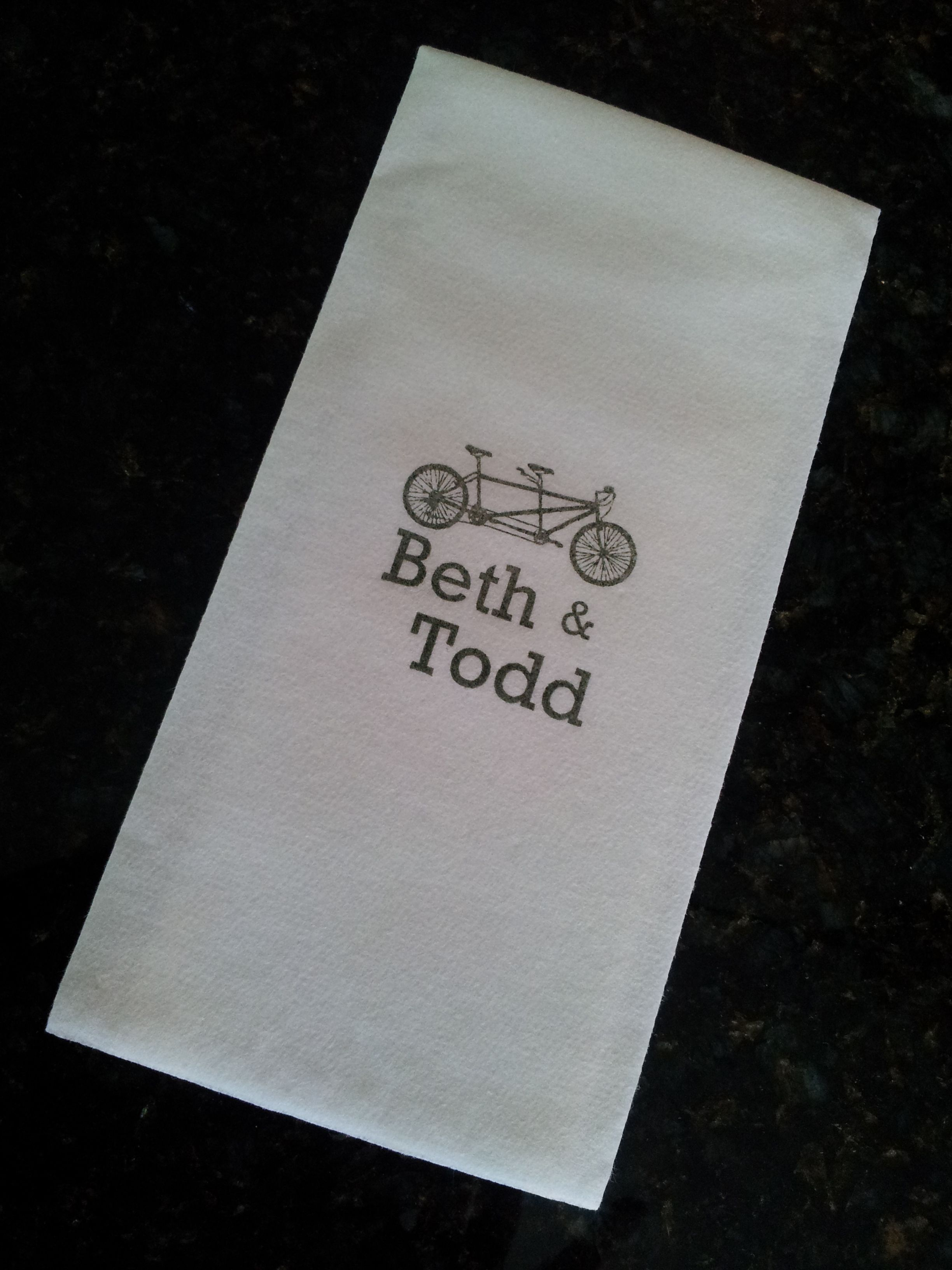 Beautiful Wedding Guest Towels And Napkins Linen Like Soft Paper