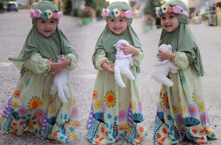 Baju Muslim Anak Balita Perempuan Busana Muslim Pinterest Kids