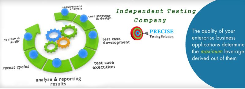 Independent Testing Company Are Providing A Testing Solution As
