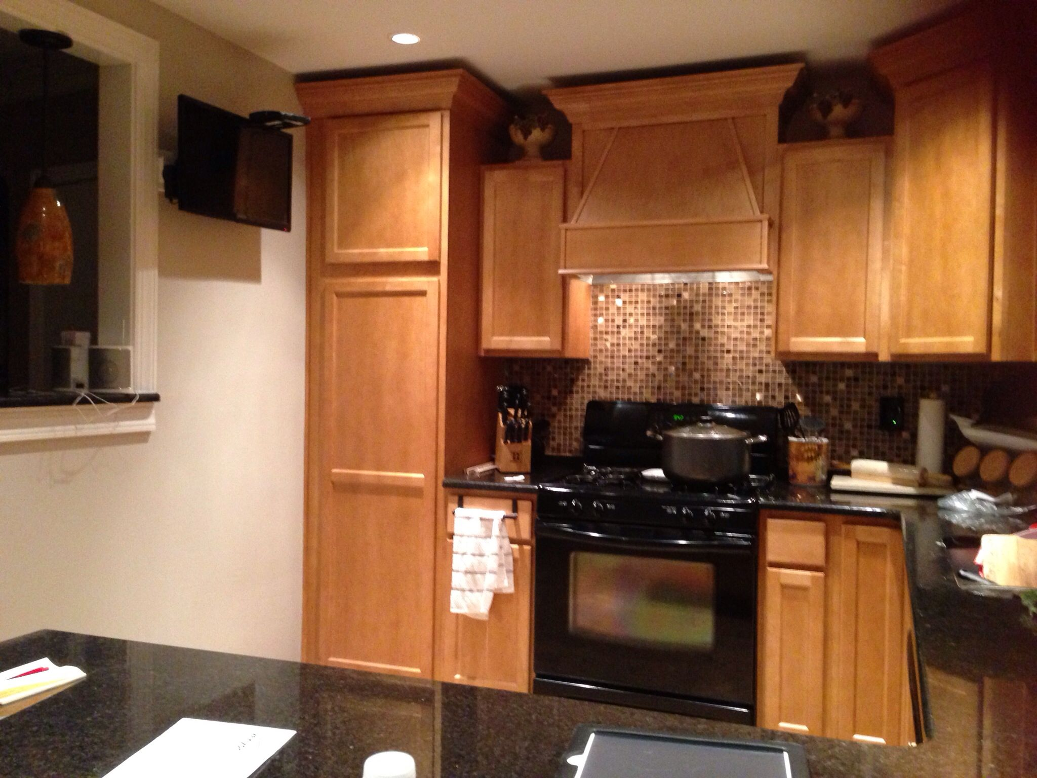 Pinterest inspired backsplash the finishing touch to my new kitchen
