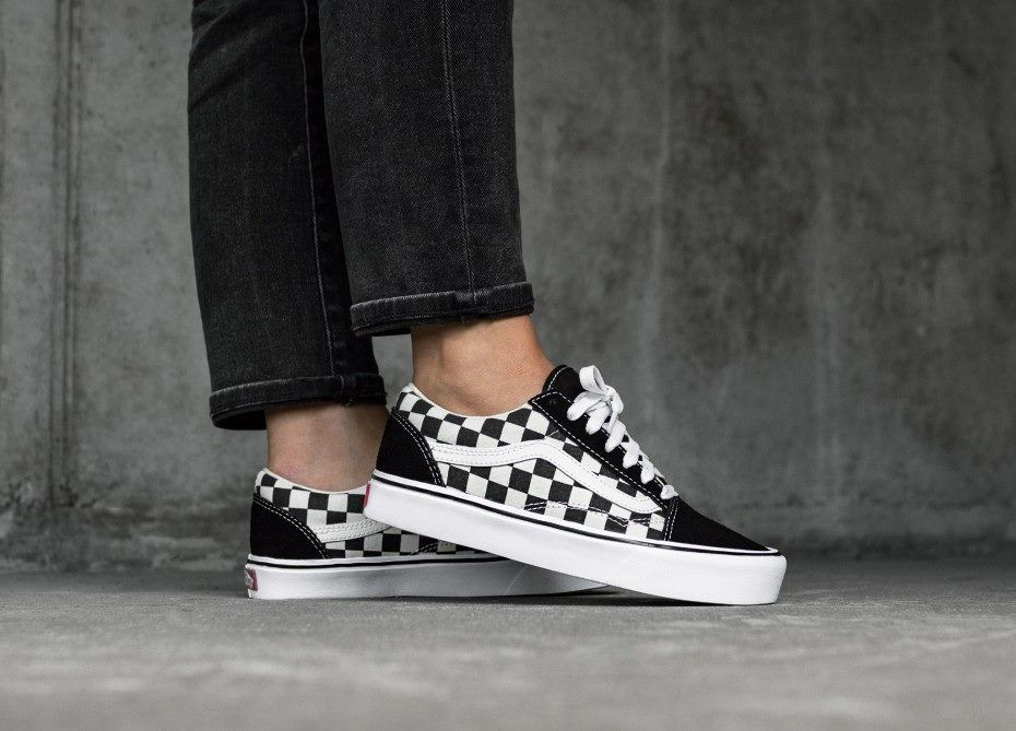 85a2426e91 VANS OLD SKOOL LITE CHECKERBOARD SHOES