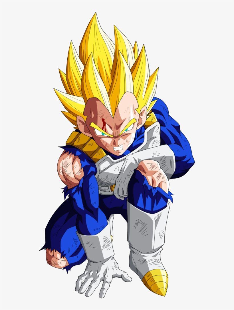 For Goku He Actually Doesn T Look Too Bad Vegeta Super Saiyan Hair Transparent Png Download Vegeta Dragon Ball Image Goku