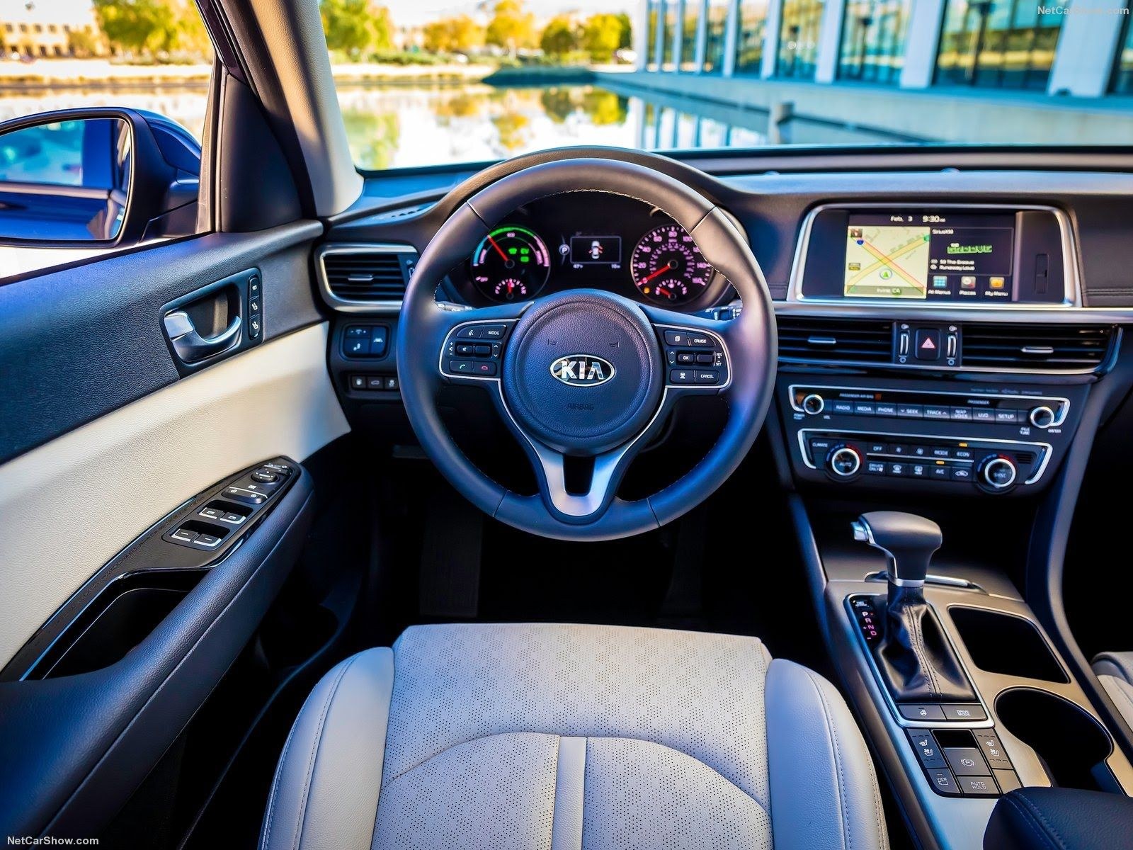 2017 Kia Optima Hybrid Interior Design Bilar