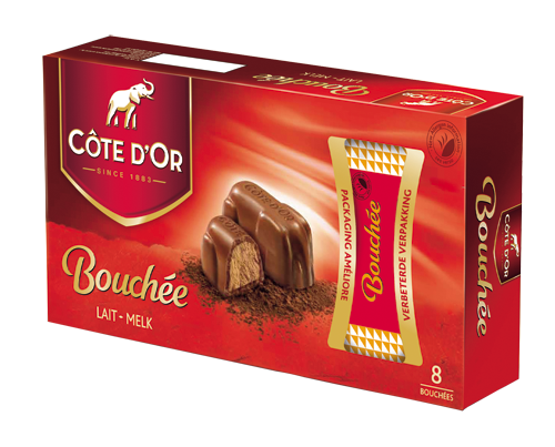 Cote Dor Milk Chocolate Bouchee Also In Dark If Possible