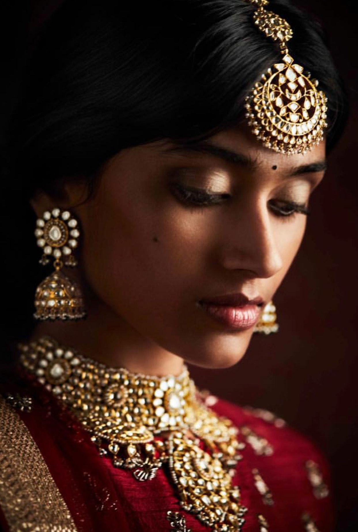 Image by chaitali muppidi on jewellery Photography women