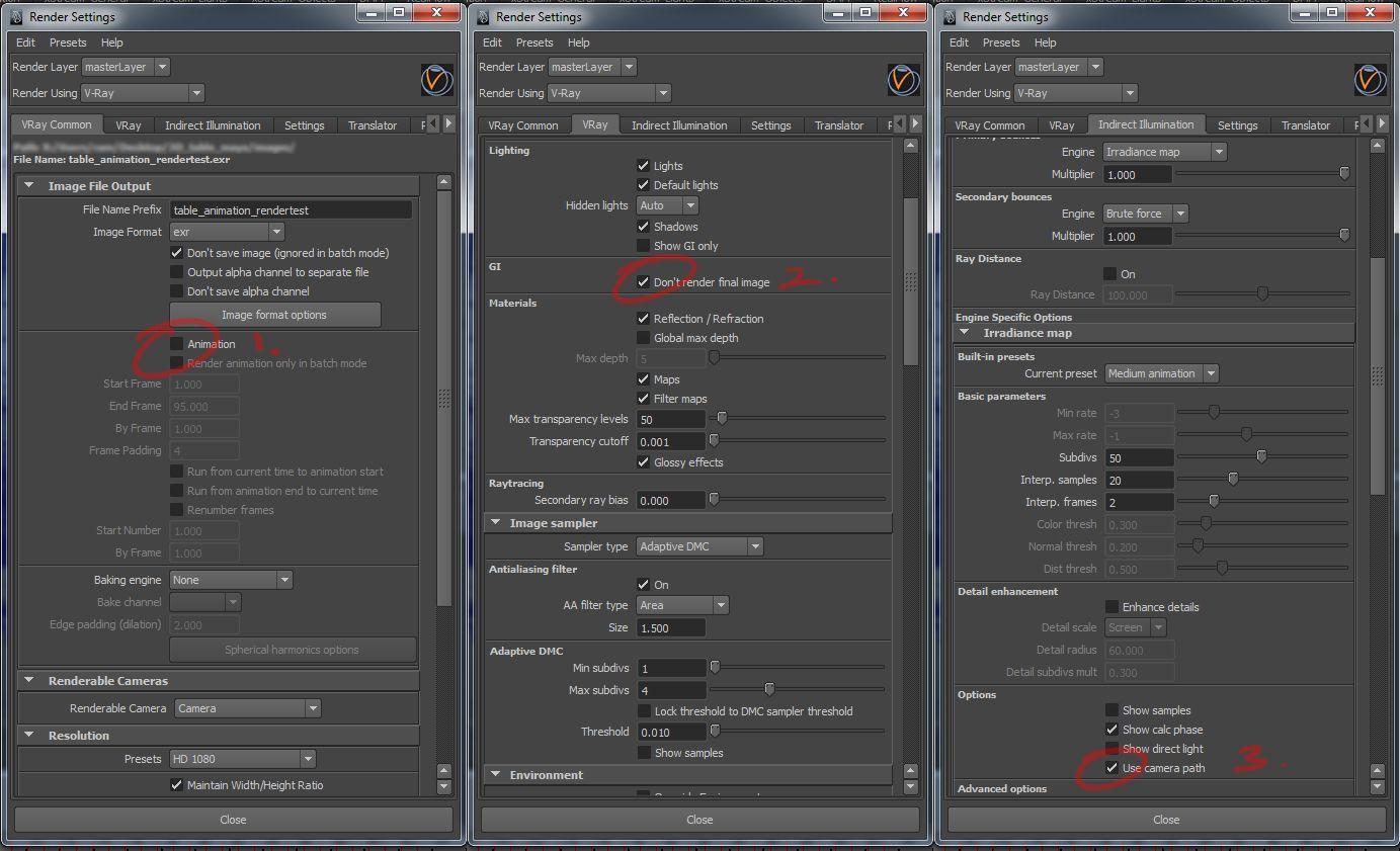 Vray global illumination no flicker 3d tools pinterest - Vray exterior rendering settings pdf ...