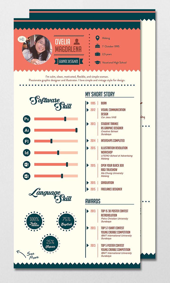 CV / Resume - Vintage Style