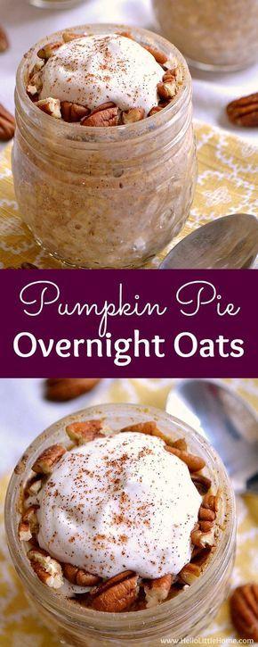 Pumpkin Pie Overnight Oats images