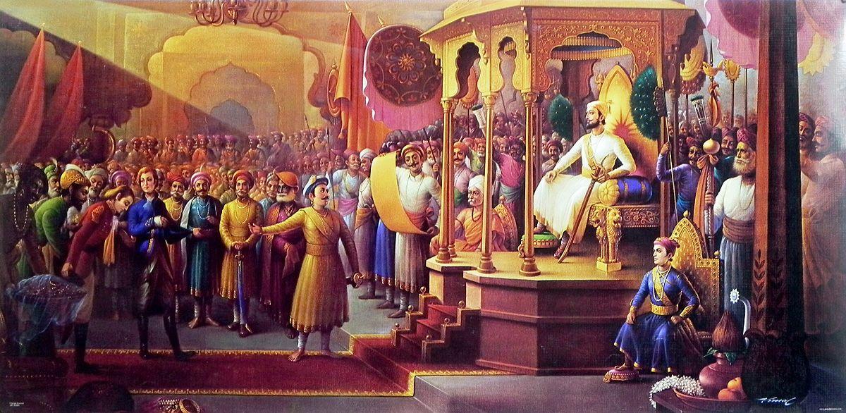 Darbar Of Chhatrapati Shivaji Maharaj The Maratha Empire Of Pune