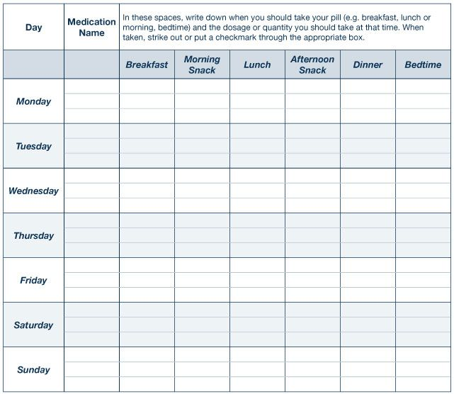 medication schedule template \u2013 b2uinfo