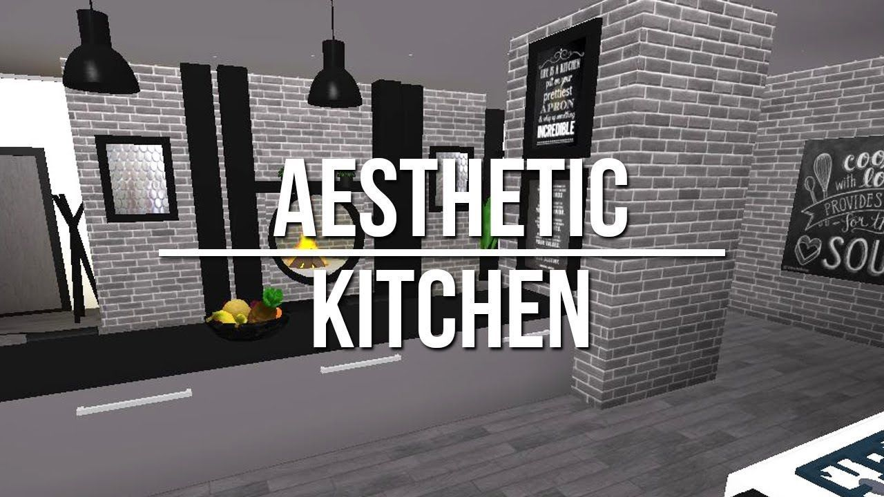 Roblox Welcome To Bloxburg Aesthetic Kitchen Sitting Room Decor