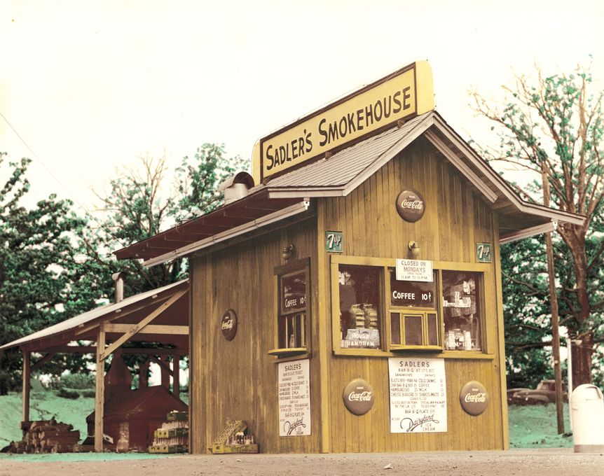 The Original Sadler S Smokehouse A Car Hop Serving True Texas Barbeque Smokehouse Texas Barbeque House Styles