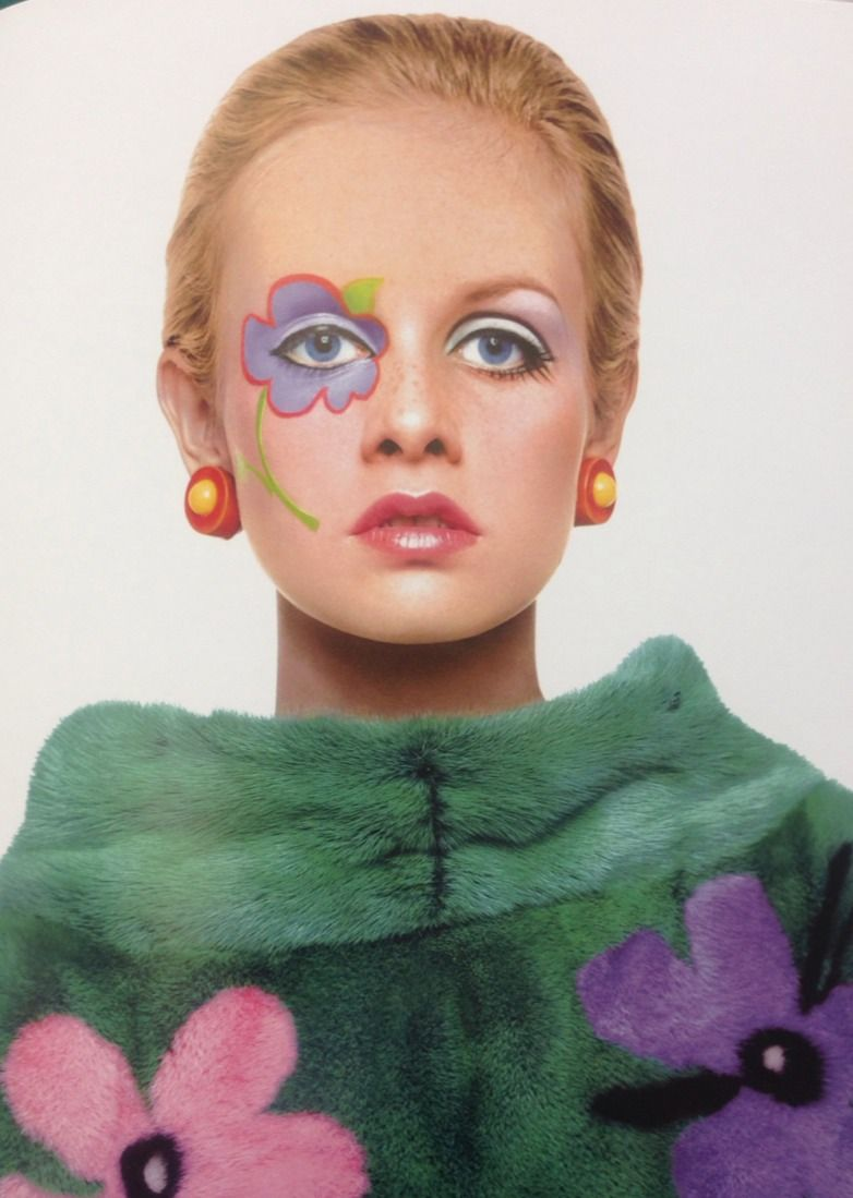 glamidols: Twiggy Flower Power 60s, Colleen Corby, 60s Hippies, Festival Makeup,