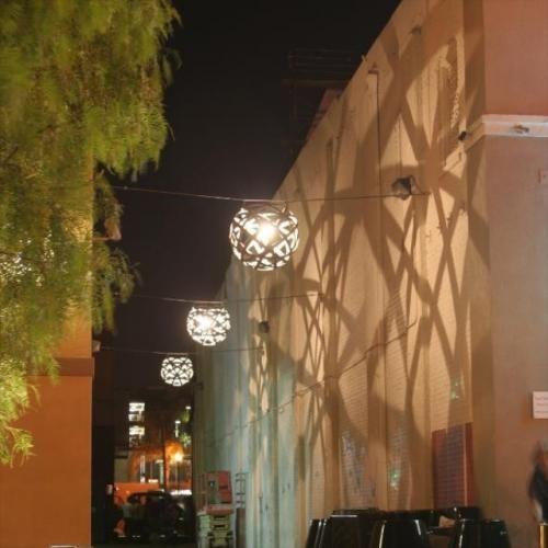Lighting Orbit Series Stave Light Potted Los Angeles Facade Lighting Urban Lighting Park Lighting