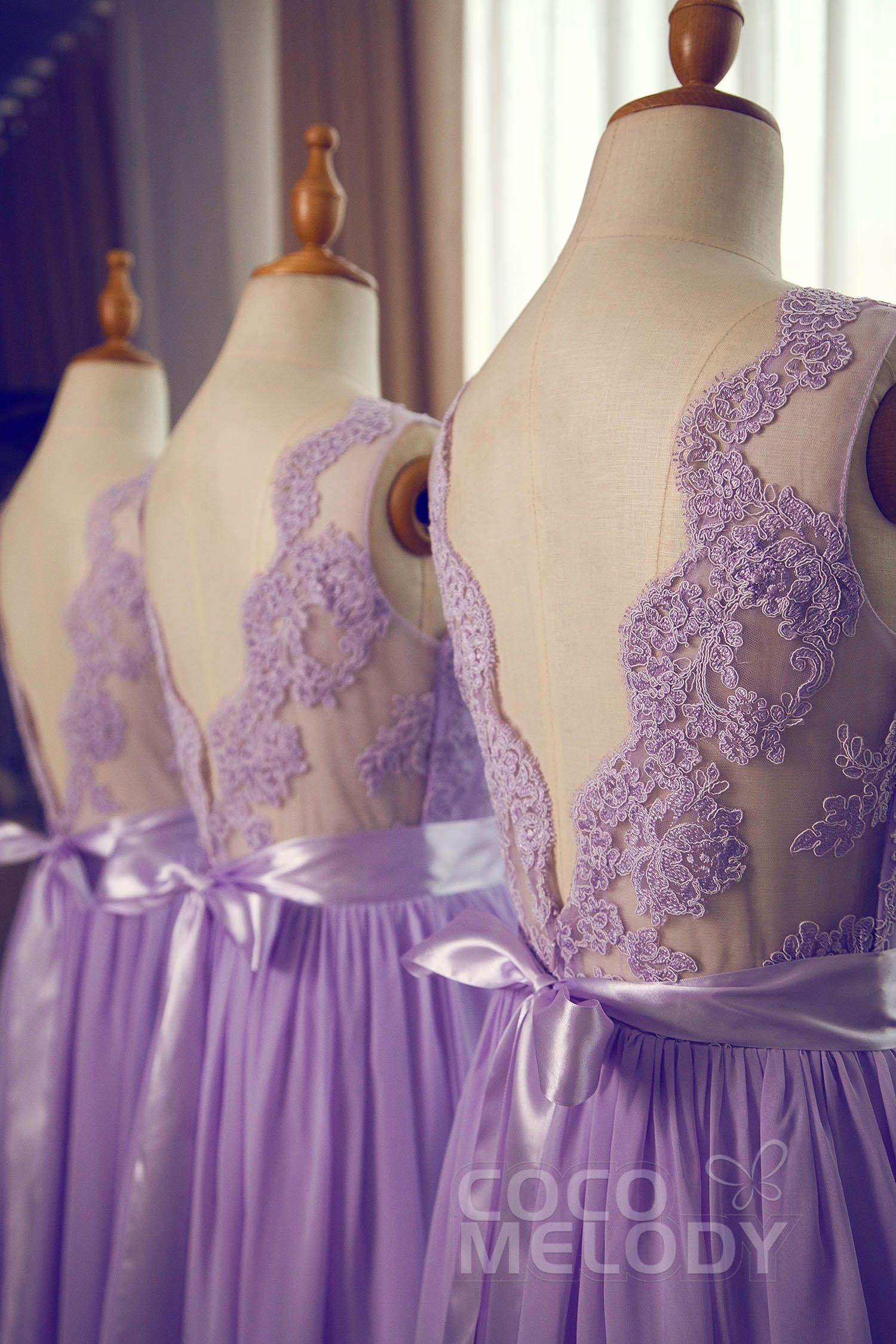 Lace wedding dress open back say yes dress  SheathColumn VNeck Natural SweepBrush Train Chiffon Sleeveless