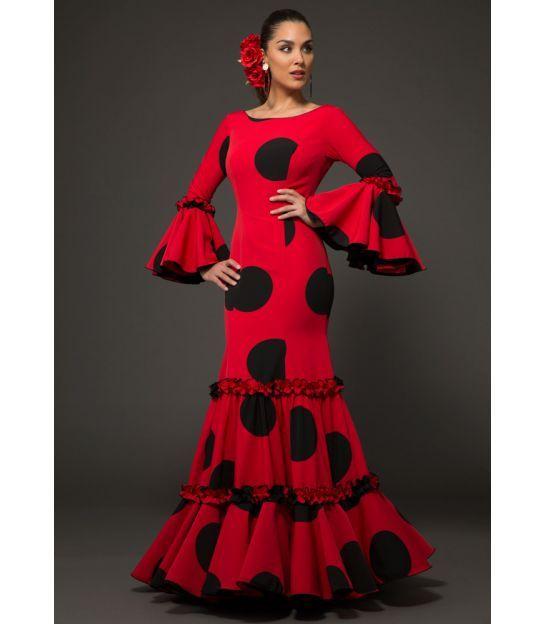 2fb64e607 Traje de flamenca Maravilla Lunares