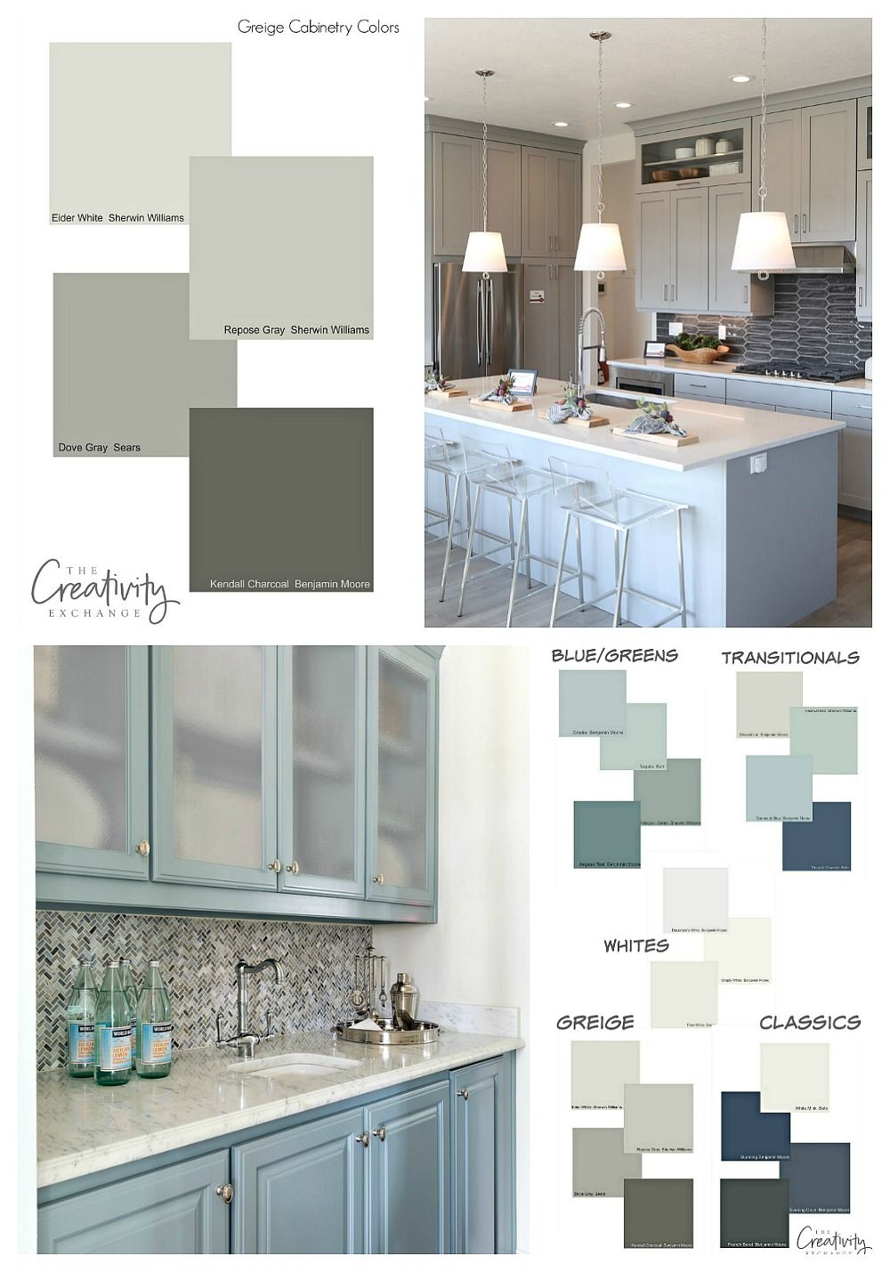 Cabinet Paint Color Trends And How To Choose Timeless Colors Painted Kitchen Cabinets Colors Painting Cabinets Cabinet Paint Colors