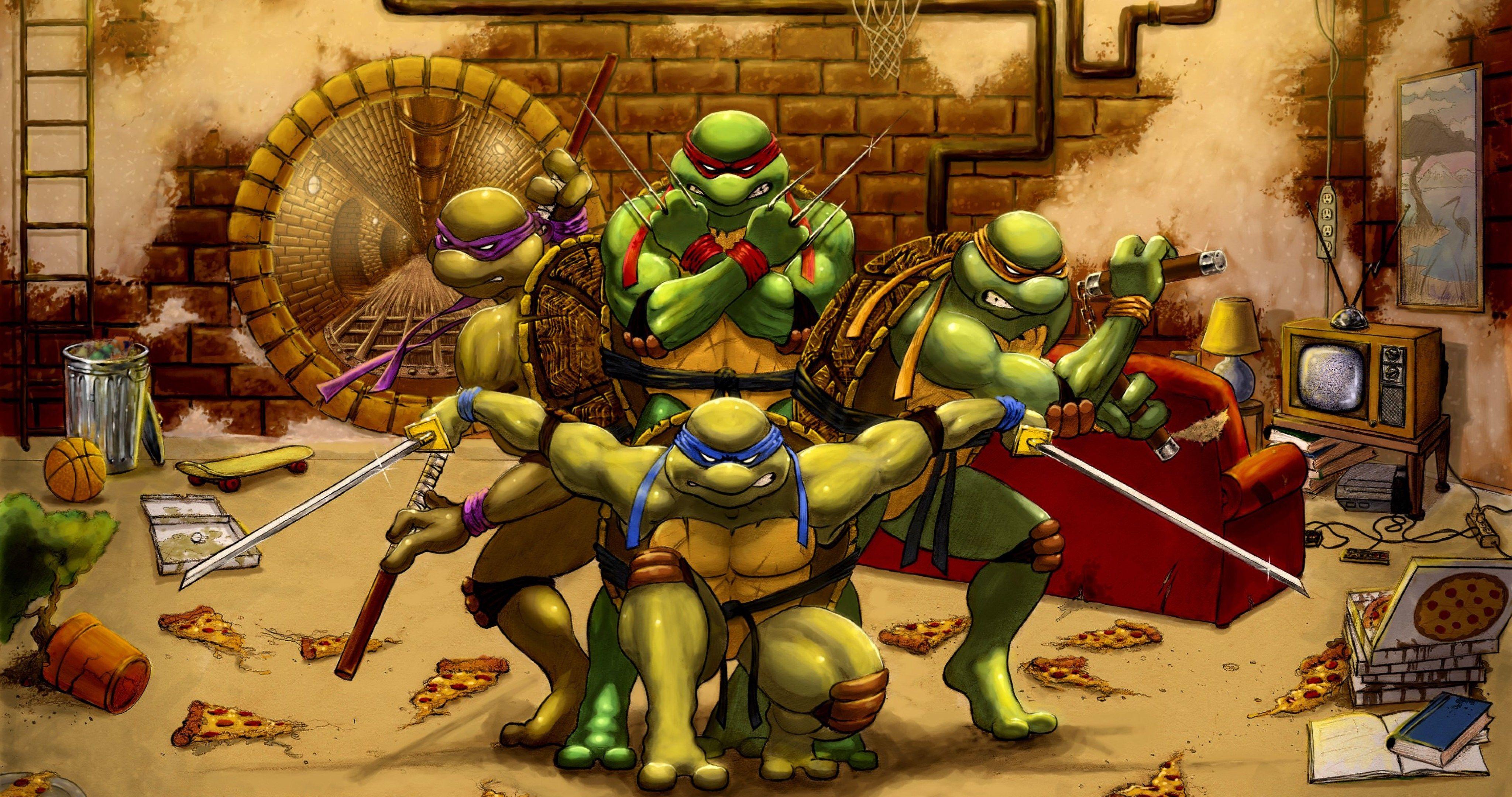 Fantastisch Schildkröten Ninja Malvorlagen Fotos - Malvorlagen Von ...