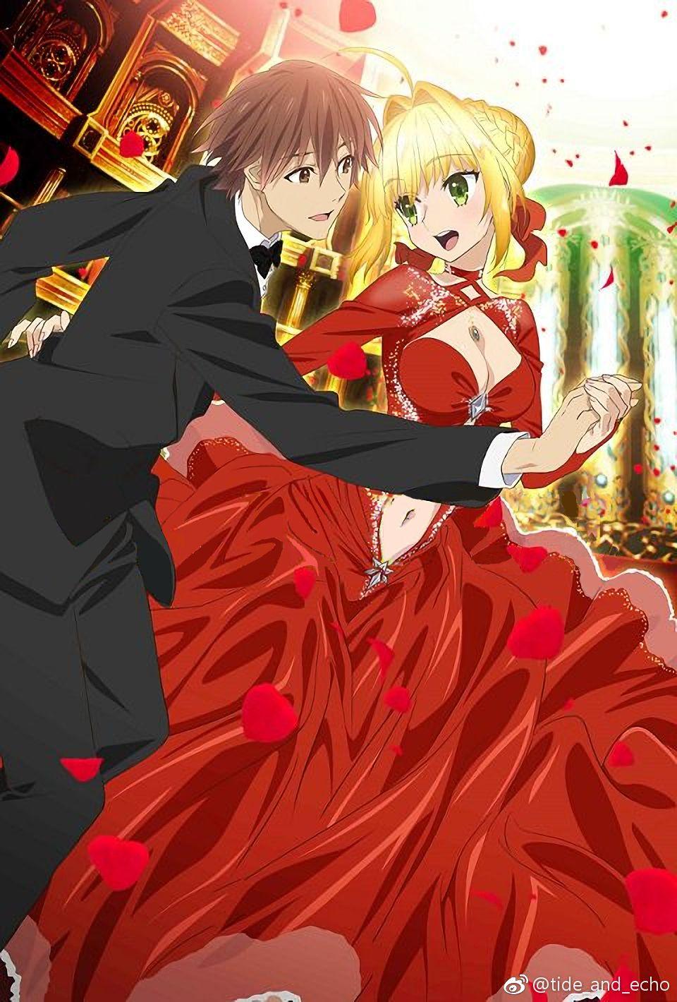 Hakuno and Nero Fate stay night series, Rwby characters