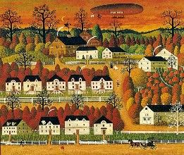 """Trick or Treat"" by Charles Wysocki"