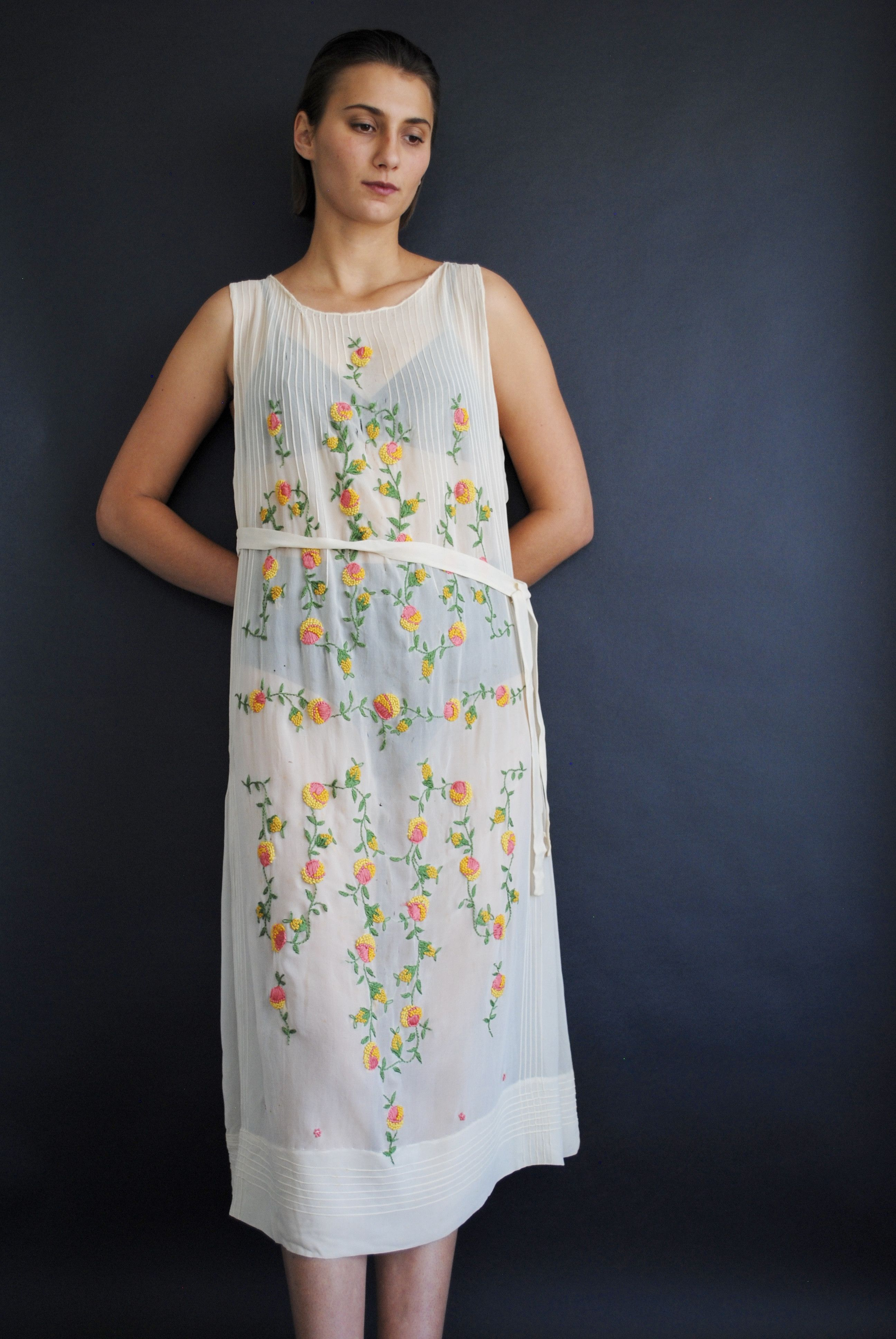 Us embroidered floral dress products