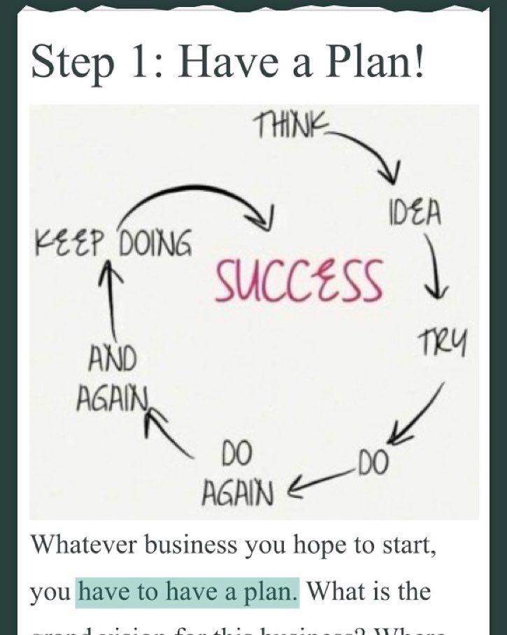 3 Simple Steps to #Success. #1 Have a PLAN! #business #socialhack #socialmedia #branding #marketing #muchsocial #hackingsocial
