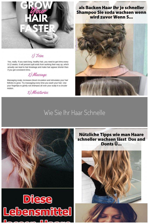 Wie Sie Ihr Haar schneller wachsen lassen #haar #ihr #lassen #schneller #Sie #