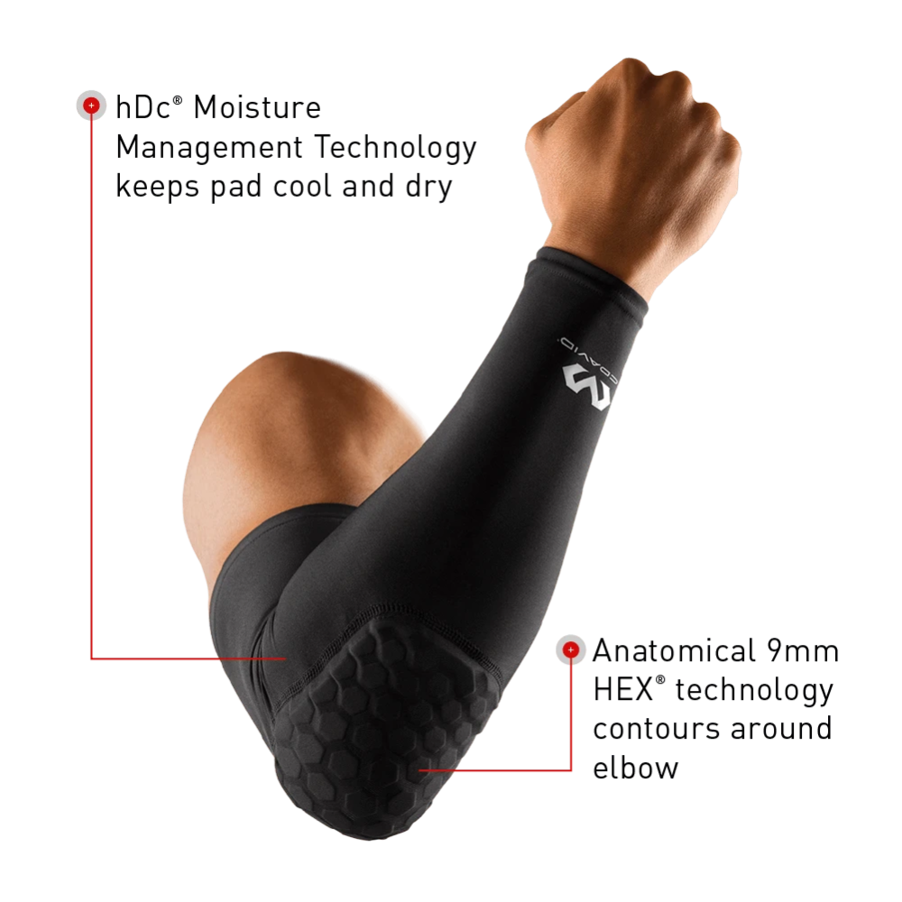 Hex Shooter Arm Sleeve Single In 2020 Padded Arm Sleeve Compression Arm Sleeves Arm Sleeve