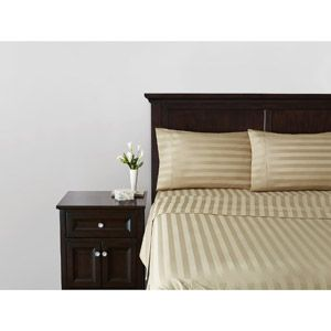 Better Homes And Gardens 400 Thread Count Egyptian Cotton Damask Stripe Sheet Set Home In Chet