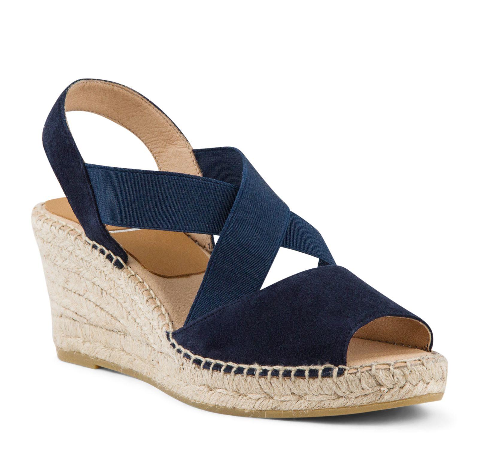 Kanna KV8071 Wedge Sandale Damens's Damens's Damens's Hudson (Navy)   Damens's Footwear ... 321fd8