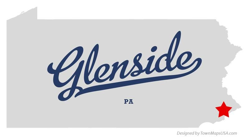 map of glenside pennsylvania pa | All in the Timing | Pinterest