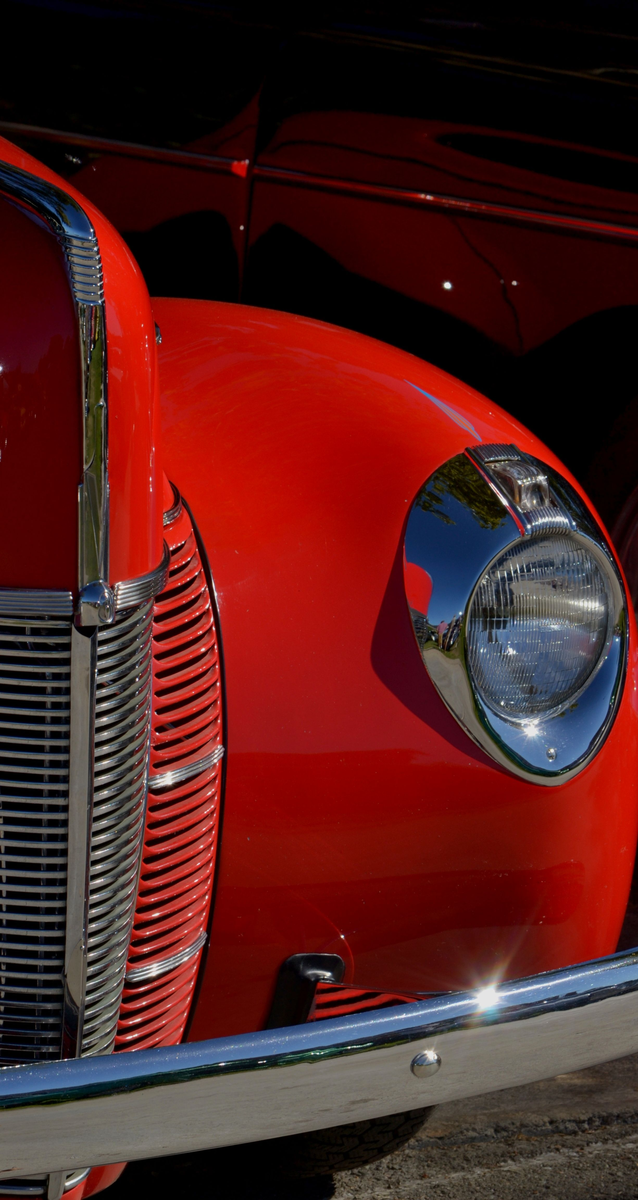 Great Pick Retro Cars Red Car Hot Pink Cars
