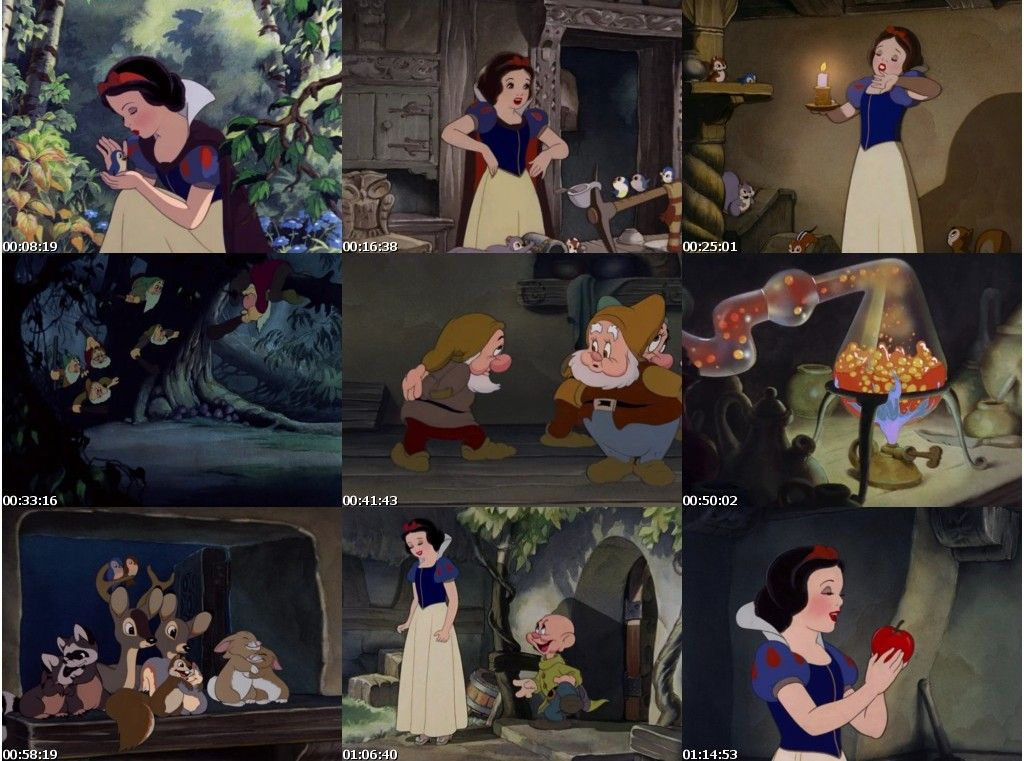 snow white and the seven dwarfs (1937) (in hindi) - full movie download