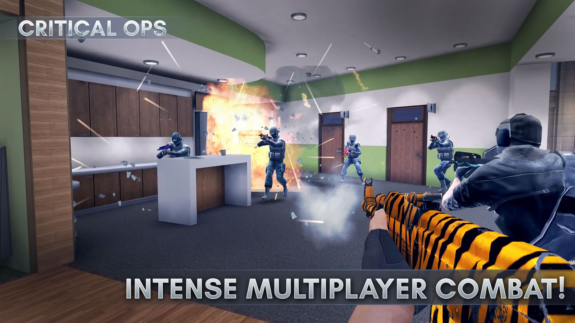 Critical Ops #Adventure#Action#apps#ios | Game APP in 2019