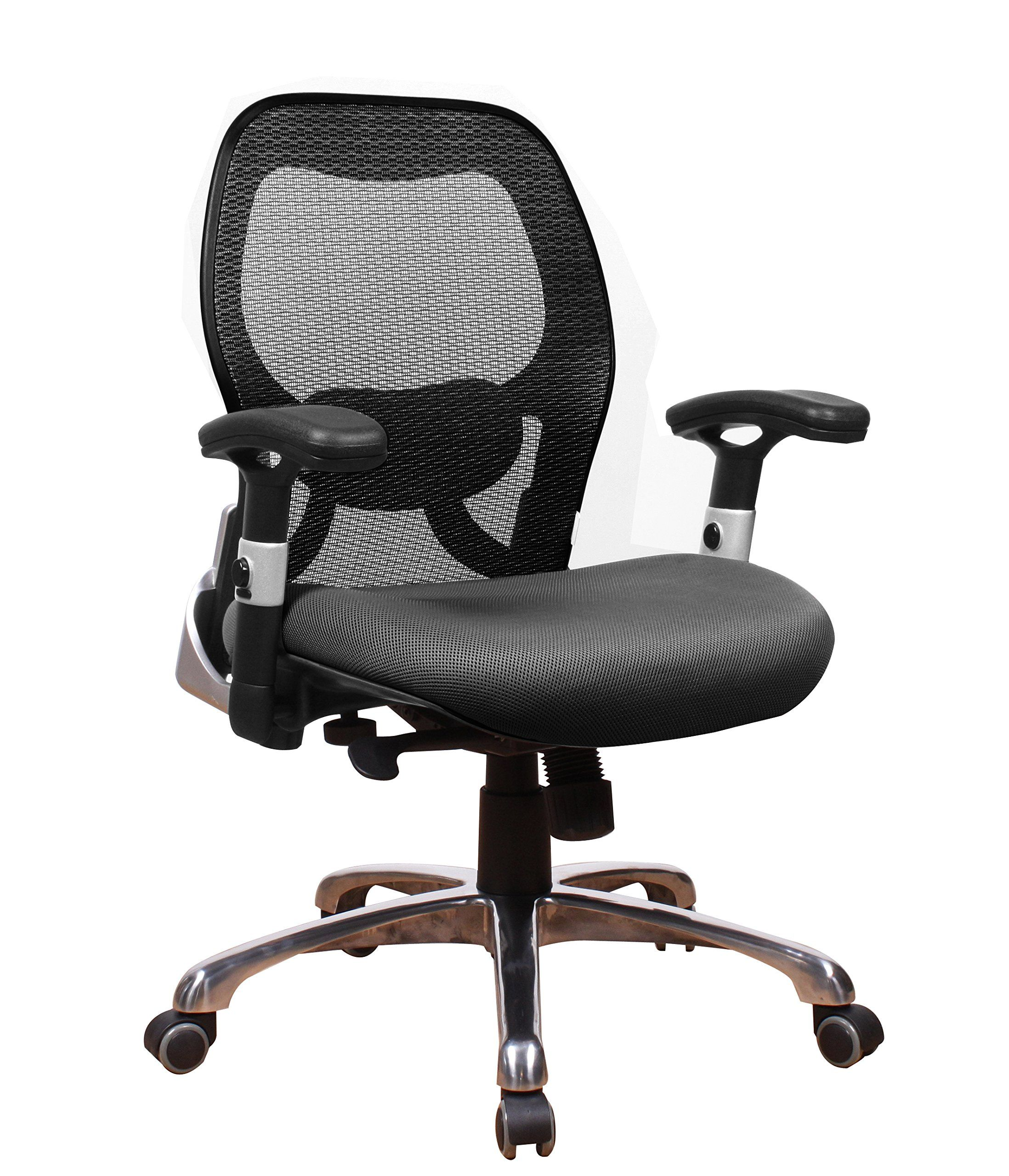 fice Factor Ergonomic Conference Room Executive Managers Desk Mesh